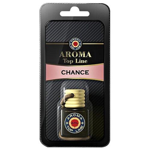 AROMA TOP LINE Ароматизатор для автомобиля 3D Aroma №10 Chanel Chance 6 мл