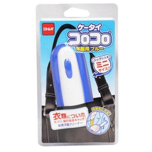 Japan Premium Pet ролик для сбора шерсти животных с одежды голубой