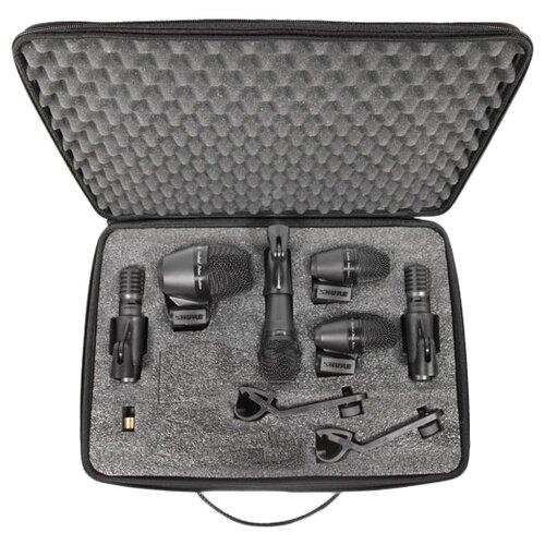 Комплект микрофонов Shure PGADRUMKIT6, черный