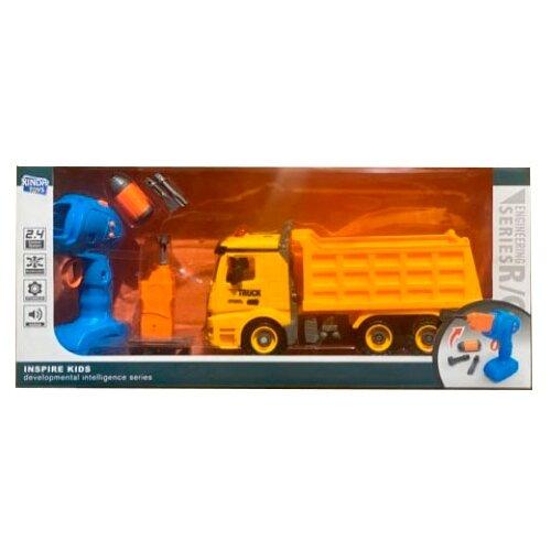 Винтовой конструктор Xinda Toys Engineering R/C BS-R1 Самосвал, Конструкторы  - купить со скидкой