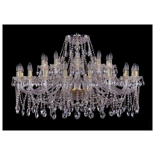 Фото - Люстра Bohemia Ivele Crystal 1413 1413/20+10/400/G, E14, 1200 Вт люстра bohemia ivele crystal 1413 18 400 g e14 720 вт