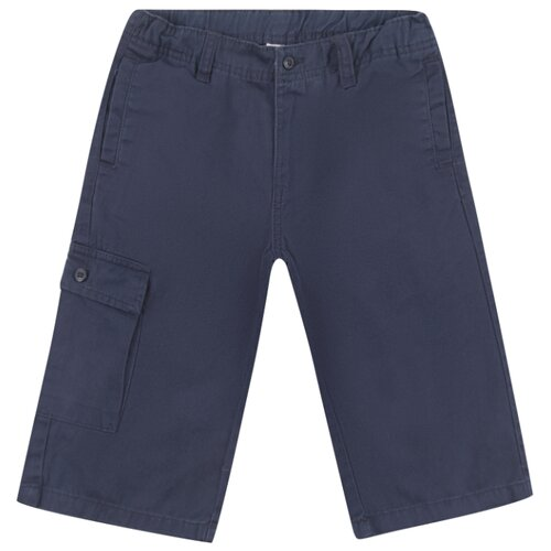 Купить Бермуды Leader Kids размер 134, синий, Шорты