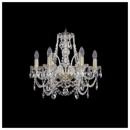 Фото - Люстра Bohemia Ivele Crystal 1411 1411/6/160/G, E14, 240 Вт люстра bohemia ivele crystal 1411 1411 12 6 300 h 94 g e14 720 вт
