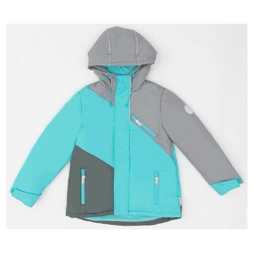 Купить Куртка Button Blue 220BBGA4102 размер 134, голубой, Куртки и пуховики