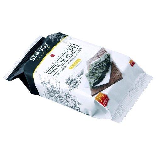 Чипсы Sen Soy Нори из морских водорослей Original, 4.5 г