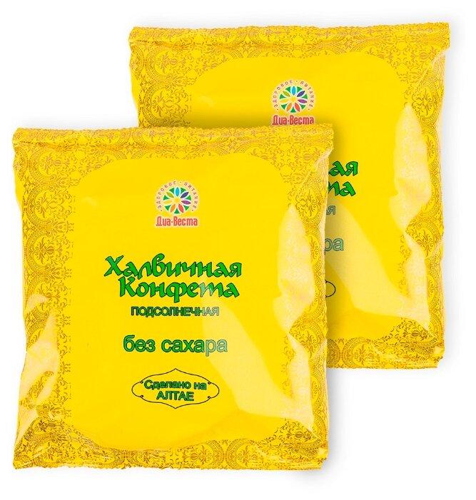 Конфеты халвичные подсолнечные без сахара, 2шт по 200г — купить по выгодной цене на Яндекс.Маркете