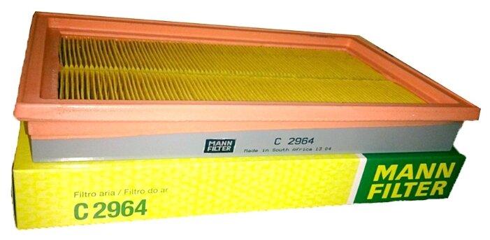 Панельный фильтр MANNFILTER C2964