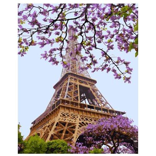 Купить Картина по номерам ВанГогВоМне ZX 23040 Очарование Парижа 40х50 см, Картины по номерам и контурам