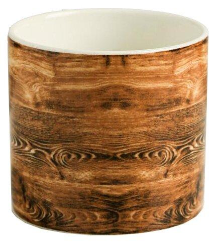 Купить Горшок Дарите счастье Дерево 8 х 7,5 см коричневый/белый по низкой цене с доставкой из Яндекс.Маркета (бывший Беру)