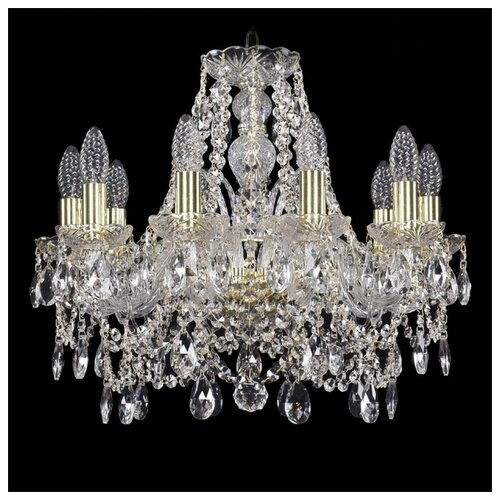 Люстра Bohemia Ivele Crystal 1411 1411/10/160/G, E14, 400 Вт бра bohemia ivele 1402b 2 160 g m701