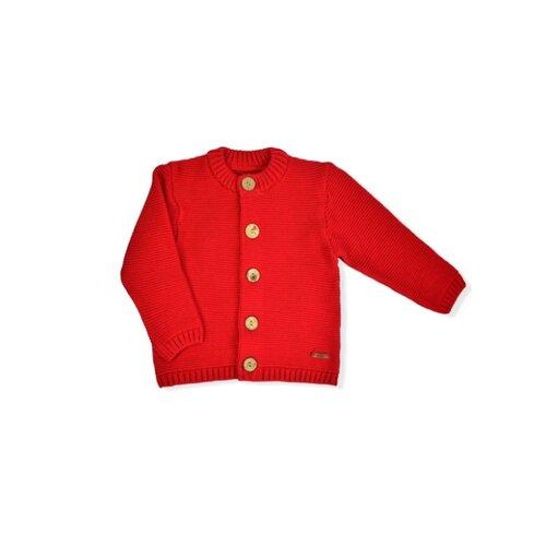 Купить Жакет LEO размер 86, красный, Джемперы и толстовки