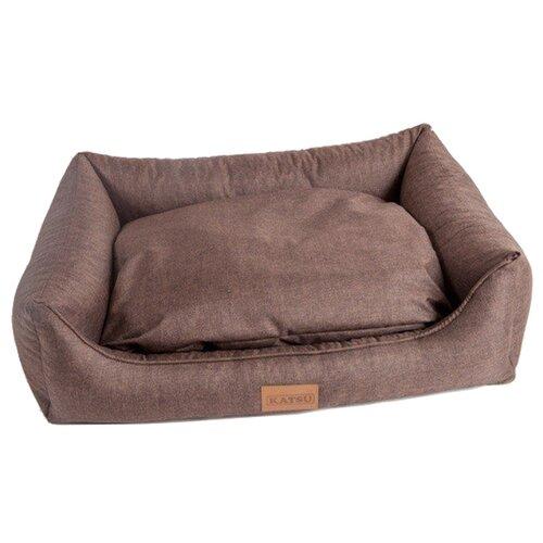 Лежак для собак Katsu Sofa Opi 130х115х14 см шоколадный