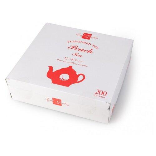 Чай черный Ти Тэнг Leaf garden Peach в пакетиках, 200 шт. чай черный ти тэнг platinum f b o p 200 г