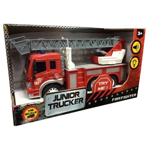Пожарный автомобиль Dave Toy Junior Trucker (33015) 1:16 28.5 см красный недорого
