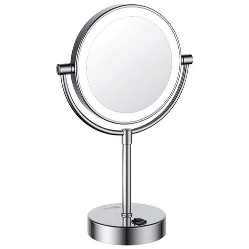 Фото - Зеркало косметическое настольное WasserKRAFT K-1005 с подсветкой хром зеркало косметическое настольное wasserkraft k 1002 хром