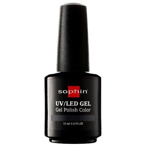 Гель-лак для ногтей Sophin Gel Polish, 12 мл, оттенок 0721 black vynil chi luxury black seed oil curl defining cream gel
