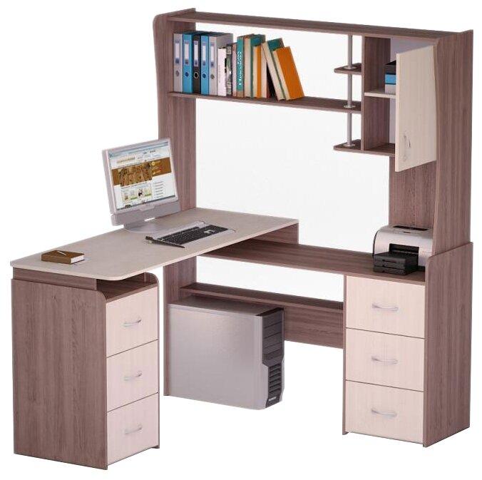 Компьютерный стол угловой Комфорт Роберт-20
