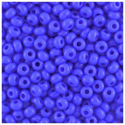Купить Бисер Preciosa , 10/0, 50 грамм, цвет: 33040 синий, Фурнитура для украшений