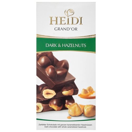 Шоколад Heidi Grand'Or темный с лесным орехом, 100 г