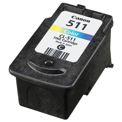 Картридж ориг. Canon CL-511 цветной для Canon PIXMA iP-2700/MP-240/250/260/270/490/MX320 (244стр), цена за штуку, 147381