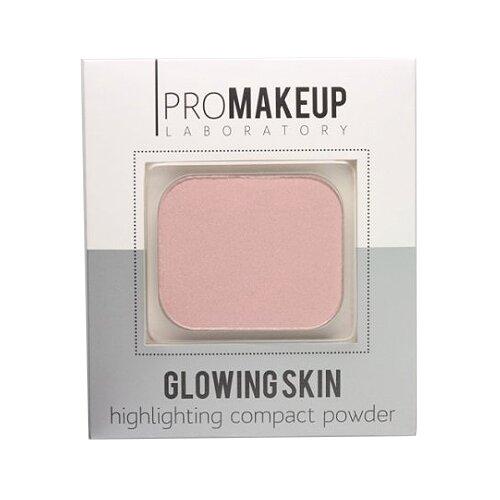 Купить ProMAKEUP Laboratory Glowing skin компактный хайлайтер 102