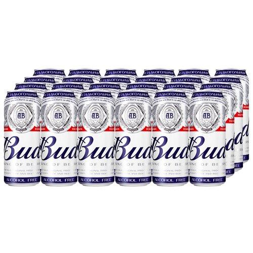 Пивной напиток безалкогольный Bud 0,45 л х 24 шт