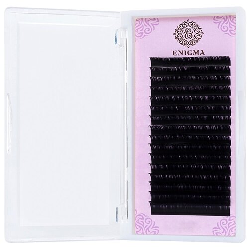 Купить Черные ресницы Enigma 0, 10/L/12 mm (16 линий)