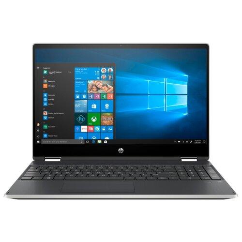 Купить Ноутбук HP PAVILION x360 15-dq1005ur (Intel Core i5 10210U 1600MHz/15.6 /1920x1080/8GB/256GB SSD/DVD нет/Intel UHD Graphics/Wi-Fi/Bluetooth/Windows 10 Home) 104B0EA естественный серебряный