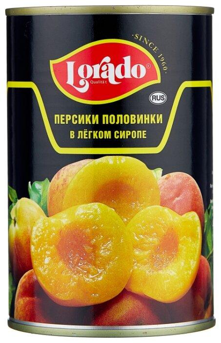 Персики Lorado половинки в легком сиропе 425 мл