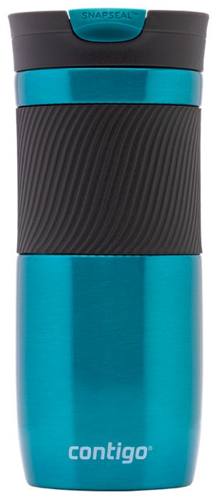 Купить Термокружка Contigo Byron (0,47 л) голубой по низкой цене с доставкой из Яндекс.Маркета (бывший Беру)