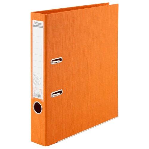 Axent Папка-регистратор Prestige+ A4 с двусторонним покрытием, 5 см оранжевая