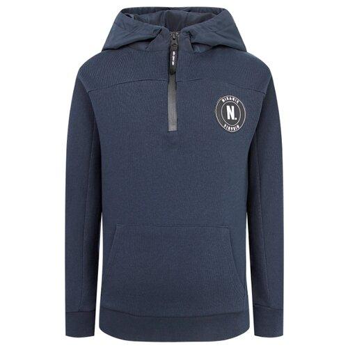 Купить Худи NIK&NIK размер 128, синий, Толстовки