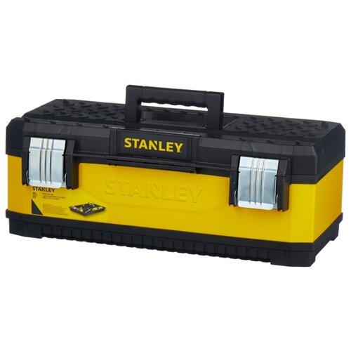 Ящик STANLEY 1-95-613 58.4x29.3x22.2 см 23'' желтый ящик с органайзером stanley mega line cantilever 1 92 911 49 5x26 1x26 5 см черный желтый