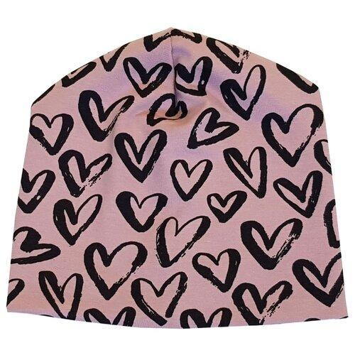 Купить Шапка Папитто размер 48, пепельно-розовый, Головные уборы