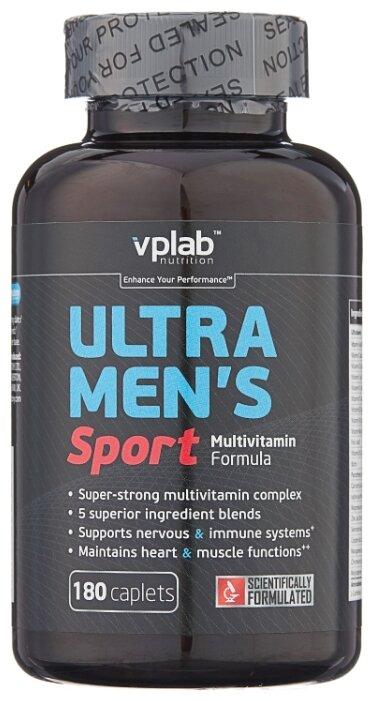 Минерально-витаминный комплекс VP Laboratory Ultra Men s Sport (180 каплет) нейтральный