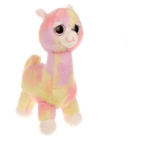 Купить Мягкая игрушка Fluffy Family Альпака Радуга, 25 см (681758), Мягкие игрушки