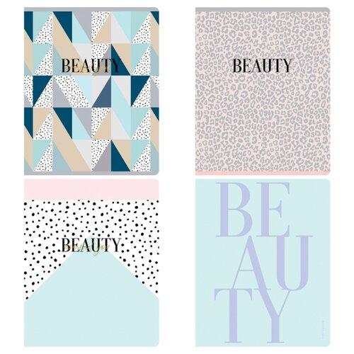 Купить Greenwich Line Упаковка тетрадей Beauty shapes N5c48-26442, 5 шт./4 дизайна, клетка, 48 л., Тетради