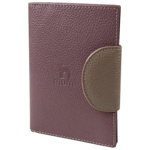 Бумажник водителя Mumi бальзамик/бежевый 194-31, натуральная кожа