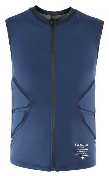 Защитный жилет детский Dainese Scarabeo Flexagon Waistcoat Stretch-Limo/Stretch-Limo