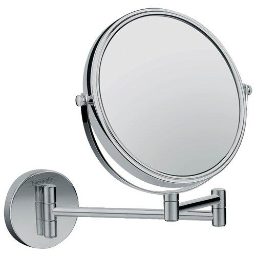 цена на Зеркало косметическое настенное hansgrohe Logis Universal Зеркало для бритья хром