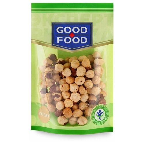 Фундук GOOD FOOD жареный, пластиковый пакет 130 г конфеты good food марципановое пралине пакет 200 г