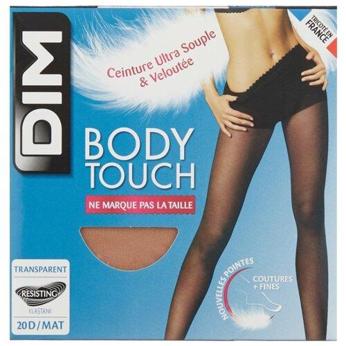 Колготки DIM Body Touch Voile 20 den, размер 2, peau doree (бежевый) колготки dim body touch ventre plat 20 den размер 1 peau doree бежевый