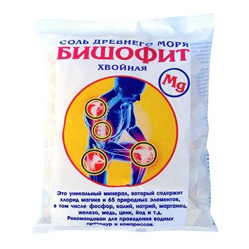 AROMA'Saules Соль для ванн Бишофит хвойный, 500 г