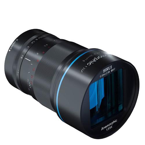 Объектив Sirui 50mm f1.8 Anamorphic Fuji X mount черный