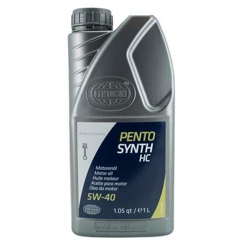 Полусинтетическое моторное масло Pentosin Pentosynth HC 5W-40, 1 л