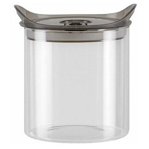 Фото - Nadoba Банка для сыпучих продуктов Otina 0.9 л прозрачный/серый банка для сыпучих продуктов nadoba 741111