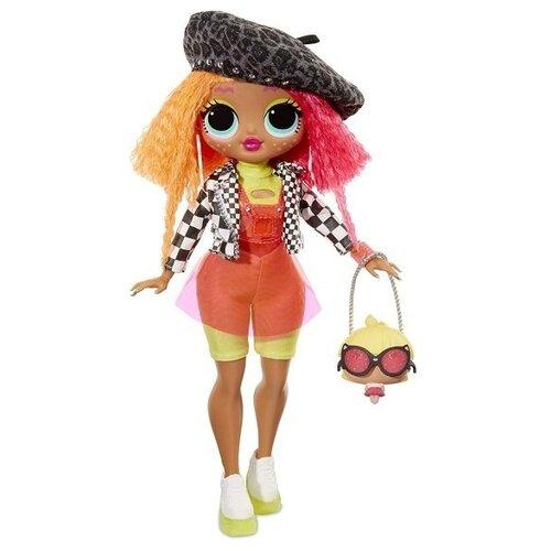 Купить Кукла-сюрприз MGA Entertainment LOL Surprise OMG Fashion Neonlicious, 560579, Куклы и пупсы