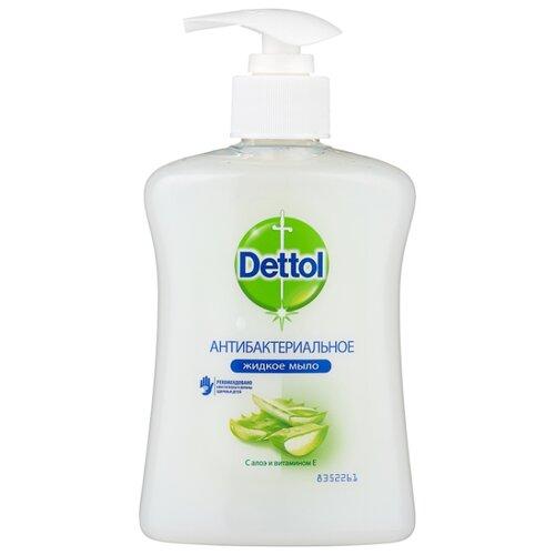 Мыло жидкое Dettol Антибактериальное с алоэ и витамином Е, 250 мл