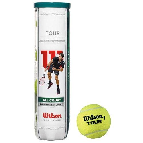 Мяч Wilson All Court 4B WRT115700 желтый