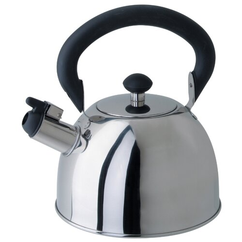 Фото - REGENT inox Чайник со свистком 93-2003 2 л, серебристый чайник 2 6 л со свистком regent tea 93 tea 28